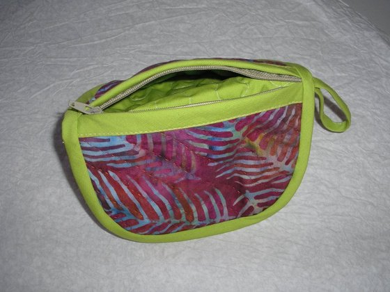 Ki-be fordítható patchwork pénztárca