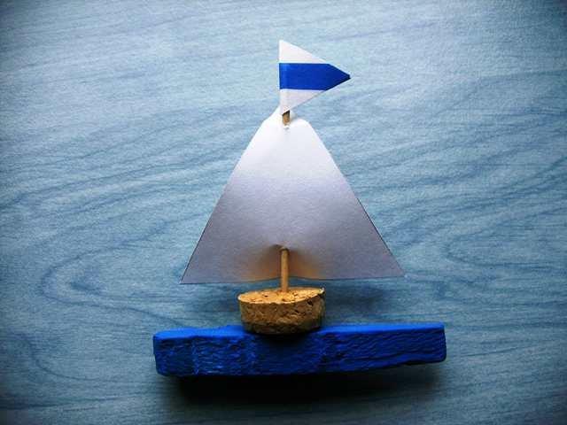 B.B.M: Hajó ruhacsipeszből 1
