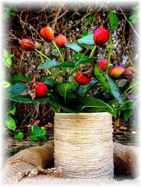 Madzagos váza